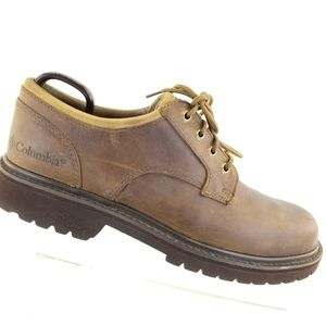 Columbia Water Proof Shoes Men's Size 9 Leather Ha